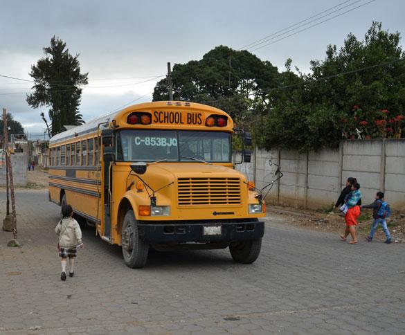 Ayudanos a reparar el bus escolar