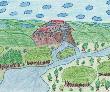 Los dibujos de los niños del hogar