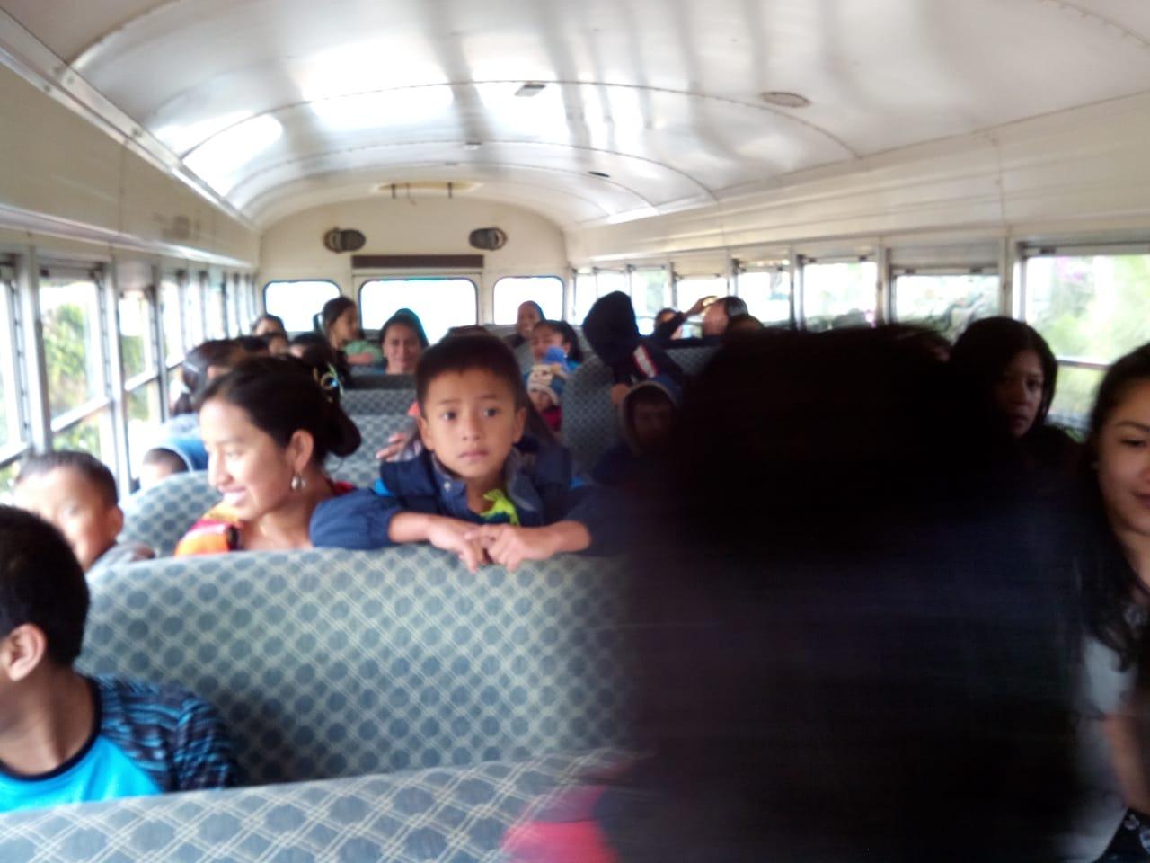 buses Manos Amigas Guatemala
